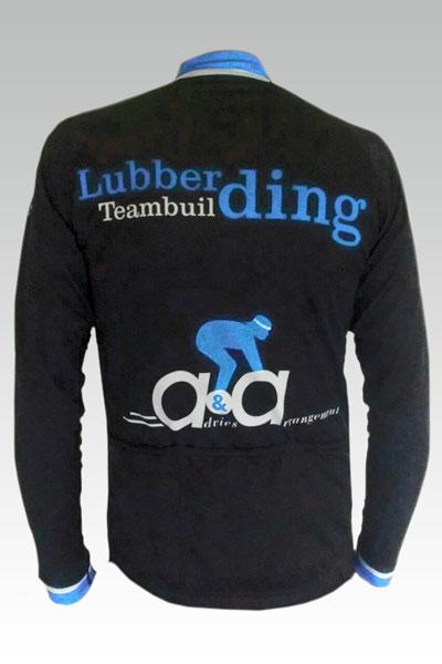 Rennersshirt lange mouwen achterzijde - Henk Lubberding