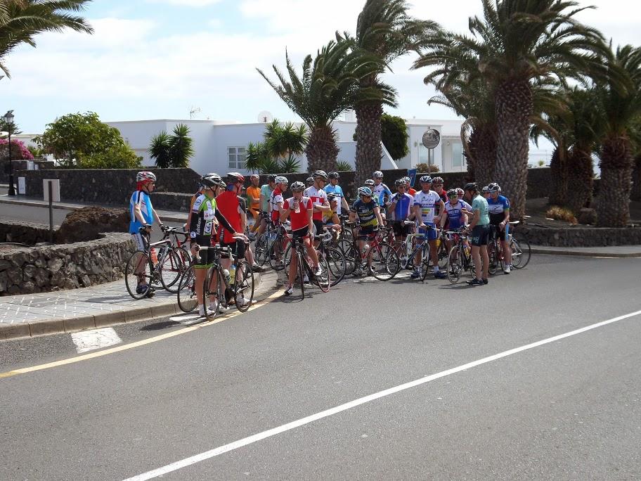 Fietsstage Lanzarote 2015 - 01